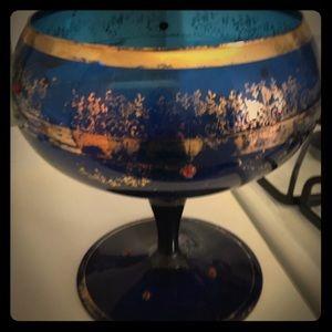 Accessories - Vintage Asian grog gold trimmed